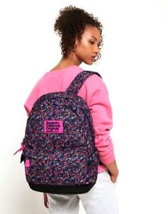 Image is loading Superdry-Print-Edition-Montana-Rucksack-in-American-Ditsy- 332b82c9f75c6