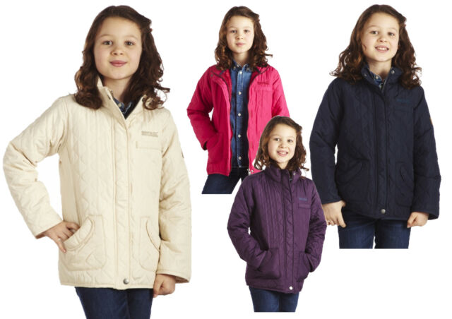Regatta Phoebus Girls Quilted Country Style Jacket/Coat RRP £40 - 4 Colours