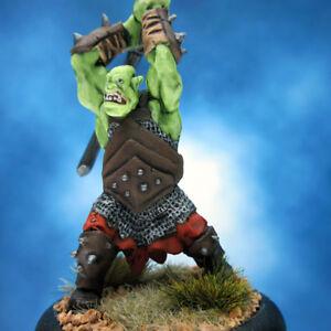 Painted-Reaper-BONES-Miniature-Giant-Orc-Warrior-II