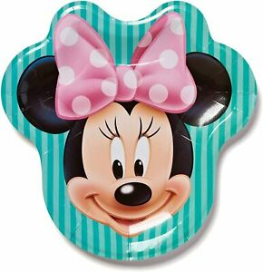 Minnie-Mouse-Bow-tique-Shaped-Lunch-Dinner-Plates-Birthday-Party-Supplies-8-Ct