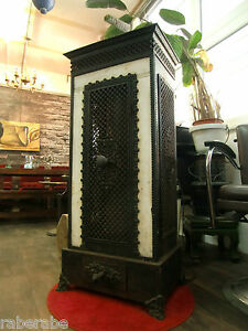 alter ofen gusseisen 123cm hoch antik ebay. Black Bedroom Furniture Sets. Home Design Ideas