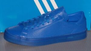 14b404a8e7be8c MENS ADIDAS COURTVANTAGE ADICOLOR in colors BLUE   BLUE   BLUE SIZE ...