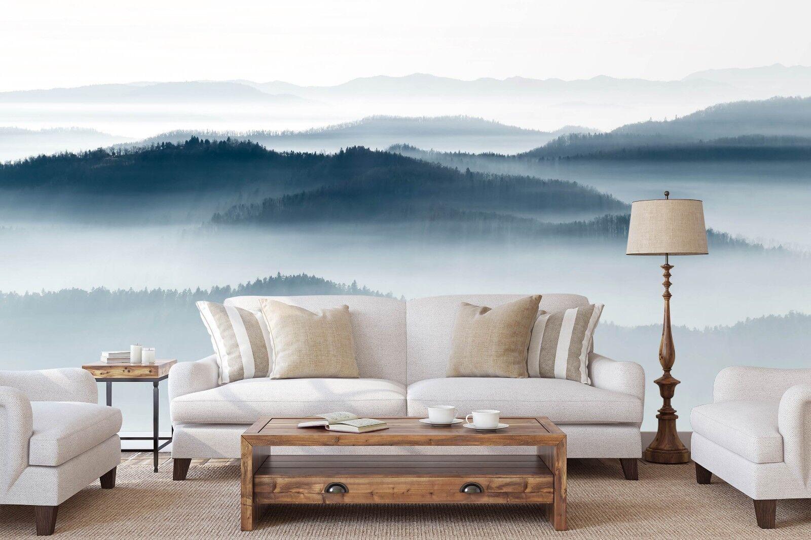 3D Berge Wolken 885 Tapete Wandgemälde Tapete Tapeten Bild Familie DE Sidney | Mittel Preis  | Professionelles Design  |