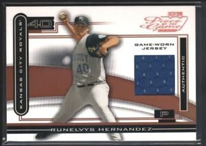 RUNELVYS HERNANDEZ 2003 PLAYOFF PIECE OF GAME BRONZE RELIC JERSEY SP ... 820e517e5