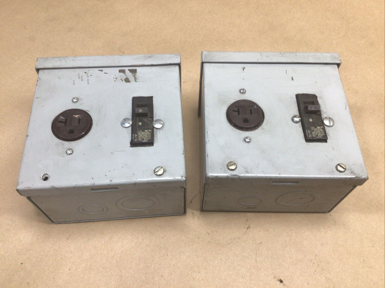 Hoffman A6R64 NEMA Type 3r Enclosure With Kos NNB for sale online