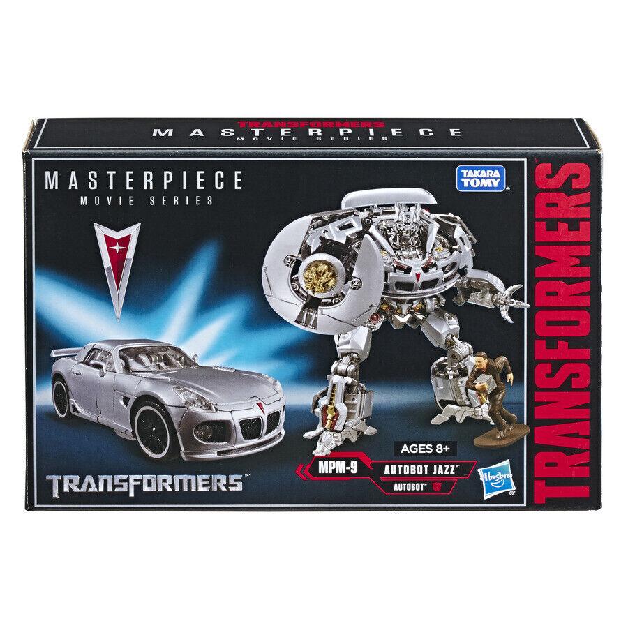 HASBRO película Transformers Masterpiece serie MPM-9 Autobot JAZZ Figura de MPM-09