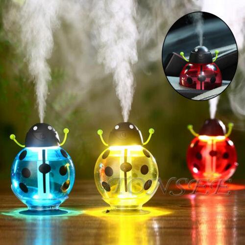 DEL Huile Essentiel Aroma Diffuseur Humidificateur à ultrasons Air Aromathérapie atomiseur