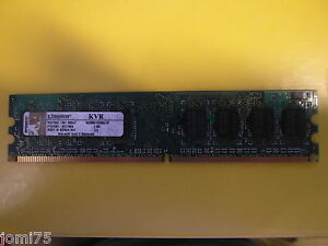 Kingston-1Go-RAM-memory-kvr667d2n5-1g-pc2-5300-555-DDR2-667-CL5