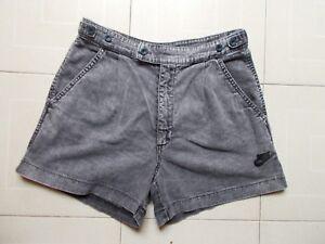 Nike Challenge Court 90's Andre Agassi Rare Vintage Jeans Tennis Shorts Size 30 Une Large SéLection De Couleurs Et De Dessins