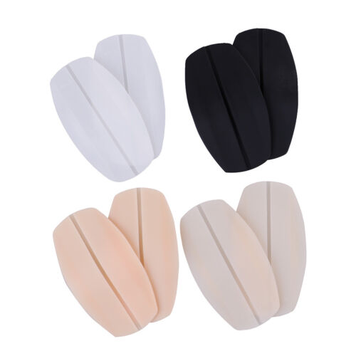 2X Soft silicone bra strap cushions holder non-slip shoulder pads relief pain FM