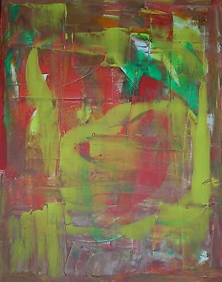Abstrakter Expressionismus Gesicht Ölgemälde