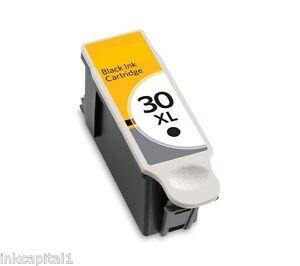 2x-NEGRO-SERIE-30-Cartuchos-de-tinta-no-oem-alternativa-para-Kodak-30xl