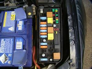 SAAB 9 3 AERO FUSE BOX IN ENGINE BAY 2.8LTR TURBO PETROL AUTO 10/02 ...