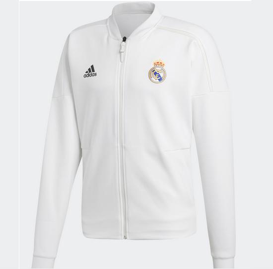 Adidas Real Madrid Z.n.e. Giacca Da Uomo-taglia S/m/l-nuova Con Etichetta