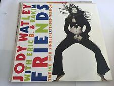 "Jody Watley With Eric B And Rakim - Friends 12"" 1989 Ex/Vg MCA MCAT1352 M/NM"