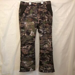 New Boy/'s Under Armour Stealth Early Season Hunting Pants UA Forest Camo Size 16