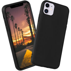 Silicone-Case-for-Apple-IPHONE-11-Protective-in-Matte-New-Very-Thin-Back-Cover