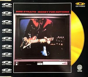 CD-VIDEO-MAXI-DIRE-STRAITS-MONEY-FOR-NOTHING-RARE-COLLECTOR-COMME-NEUF-1988