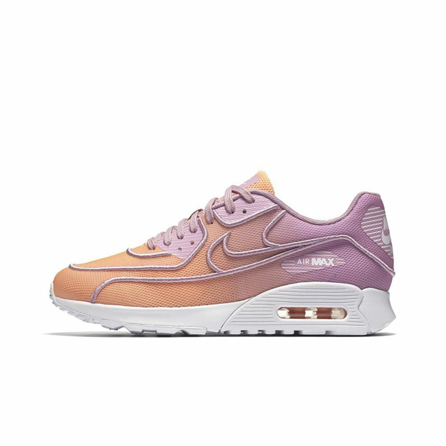 Nike Air Max 90 Ultra 2.0 Br Sunset Glow/Sunset Glow-Orchid 917523 800 Wmn Sz 6 Great discount