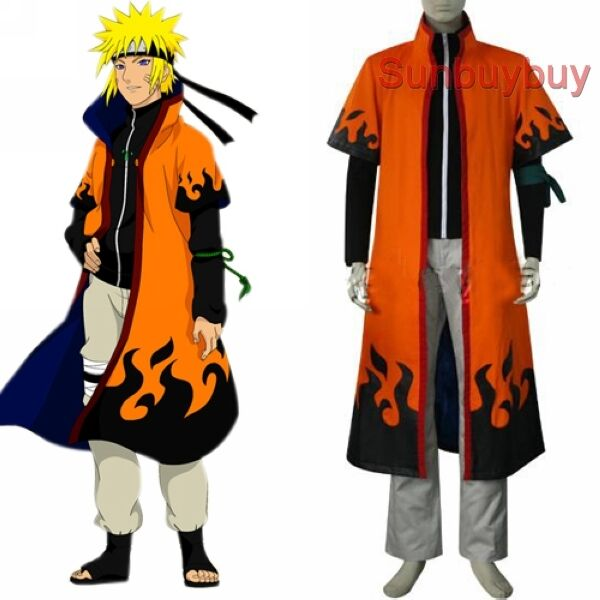 Naruto Uzumaki 6th Hokage Halloween Cosplay Costume cloak  sc 1 st  eBay & Naruto Uzumaki 6th Hokage Halloween Cosplay Costume Cloak | eBay
