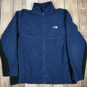 Mens-Vintage-The-North-Face-Fleece-Jacket-Blue-Size-XL