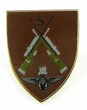 PARACHUTE REGIMENT PARAS SNIPER CLASSIC HAND MADE IN UK PLATED LAPEL PIN BADGE