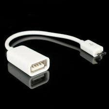 CAVO ADATTATORE OTG MICRO USB 2.0 PER SAMSUNG GALAXY S2 S3 S4 Ace Note 2