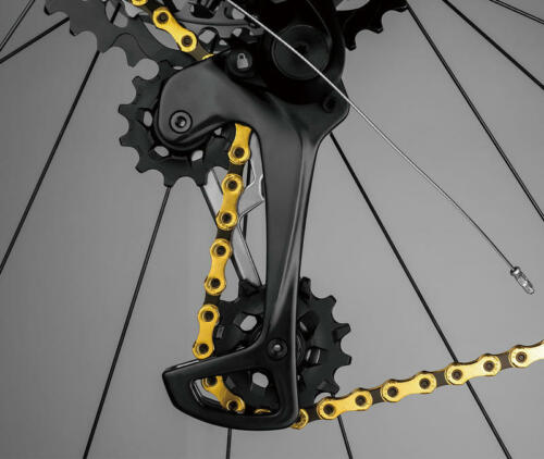 Gold KMC X12 12 speed 126L MTB Mountain Bike Bicycle Chain for SRAM