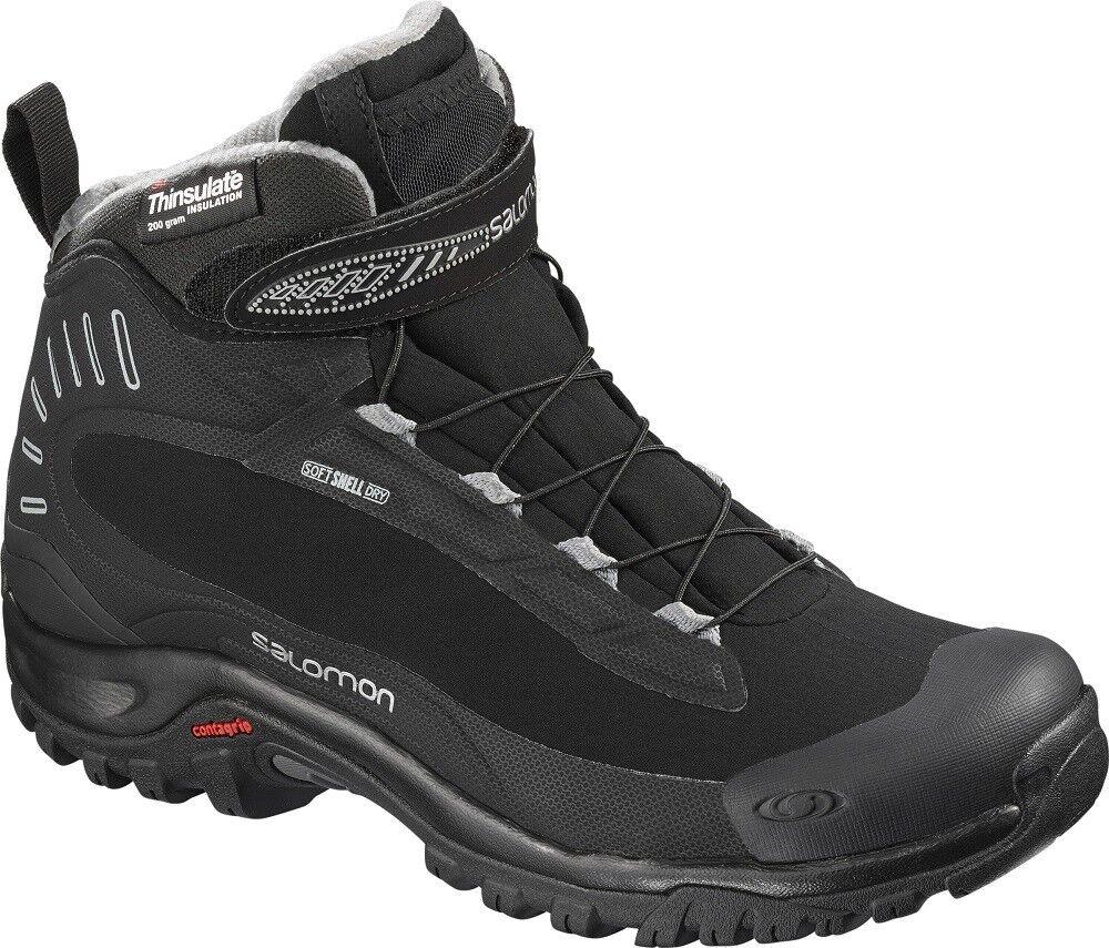 SALOMON Deemax 3 TS Waterproof L404736 Outdoor Hiking Winter Boots shoes Womens