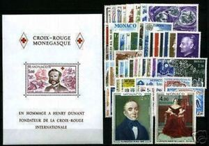 MONACO-STAMP-ANNEE-COMPLETE-1978-50-TIMBRES-NEUFS-xx-LUXE