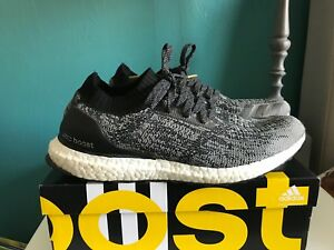 online retailer 31bef 27d3a Details about Adidas Men's ULTRA BOOST Uncaged Size 9.5 UK or 44 EU Grey