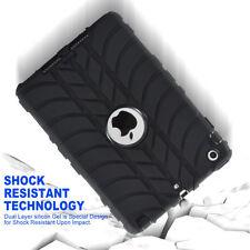 Shockproof Heavy Duty Rubber Hard Case For iPad 2/3/4 Mini 1/2/3/Pro 9.7/Air 1 2