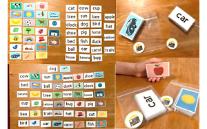 50-First-Words-Pictures-Flash-Cards-Learning-To-Read-Early-Learning-Resource-Sen