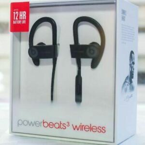 New Beats Power Beats 3 By Dr Dre Wireless Bluetooth Headphones Uk 24h Ebay