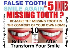 Great Value TEMP TOOTH MISSING TOOTH TEMPORARY REPAIR DIY TEETH FALSE DENTAL FIX