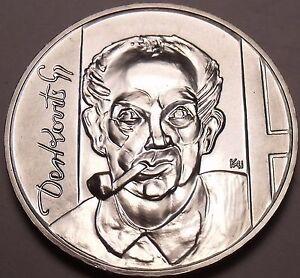 Rare Gem Unc Romania 2011 50 Bani~Incredible Details~King~Mircea The Great~Fr//sh