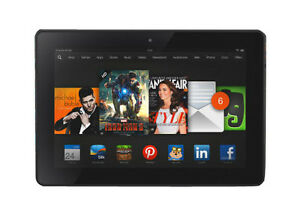 Amazon Kindle Fire HDX 32GB, Wi-Fi, 7in - Black (Latest Model)
