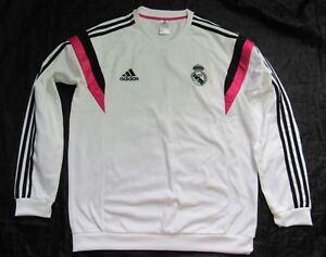 822473950b5 Image is loading REAL-MADRID-Training-Top-Jacket-Adidas-2014-2015-