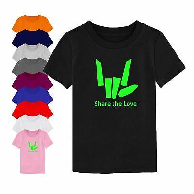 Share The Love Kids Tshirt Youtuber Youtube Sharerghini Car Boys Tee