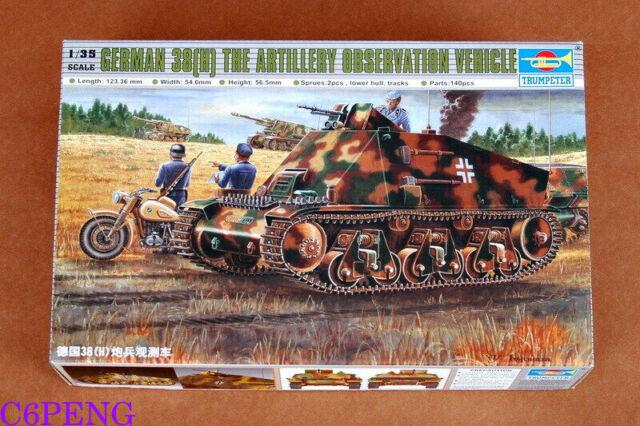 Trumpeter  00355 1/35 German 38(H) Artillery Observation Vehicle Hot