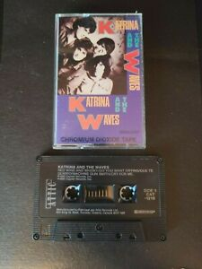 Katrina and the Waves Cassette Tape Capitol Walking on Sunshine Canada Pressing