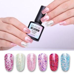 LILYCUTE-Glitter-Soak-Off-UV-Gel-Polish-Shimmer-Nail-Art-Gel-Varnish