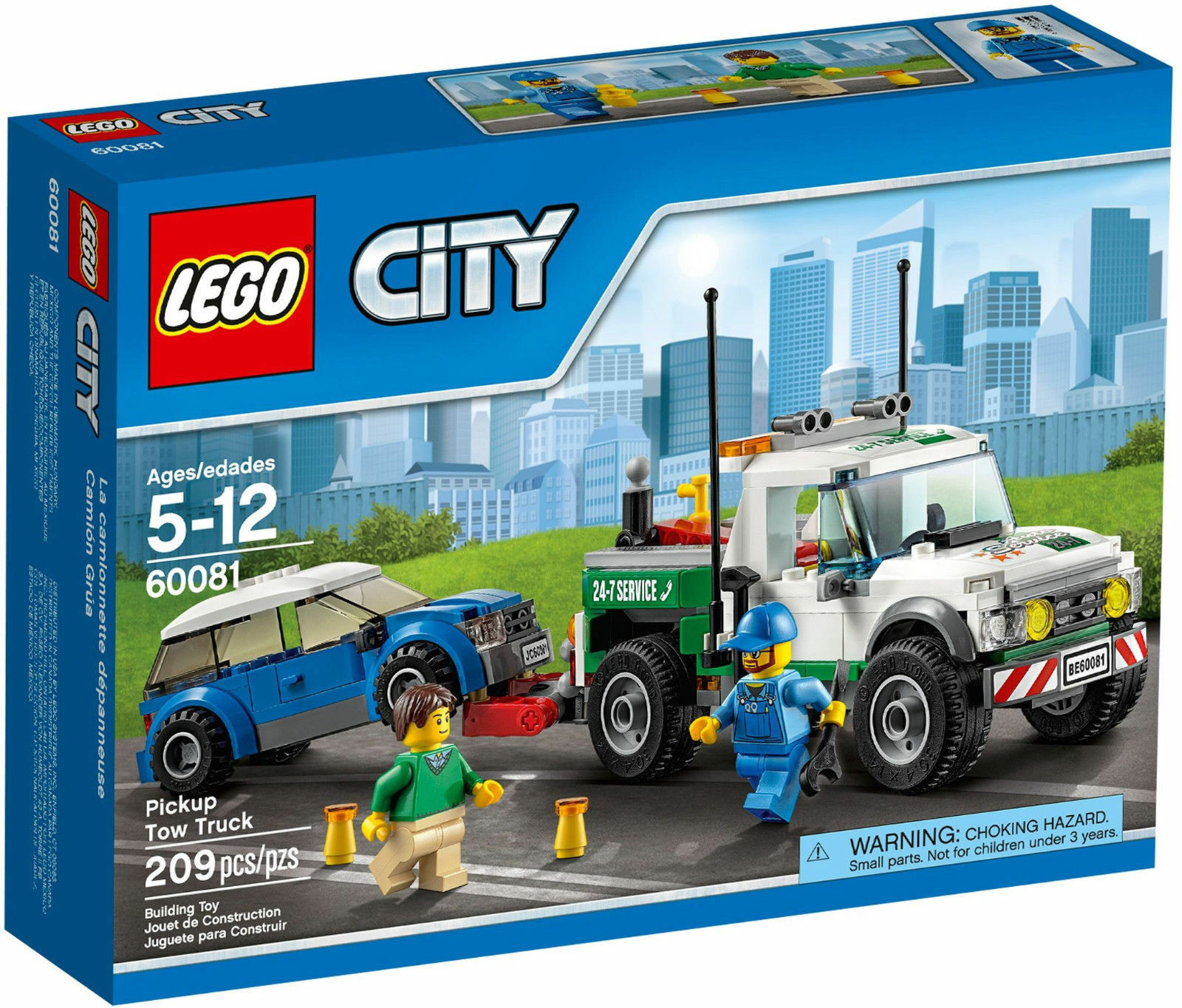LEGO City Great Vehicles 60081  Pickup Tow Tow Tow Truck 308fdd