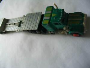MAJORETTE  FRANCE 1/87 CAMION  PORTE ENGINS Réf  2161400
