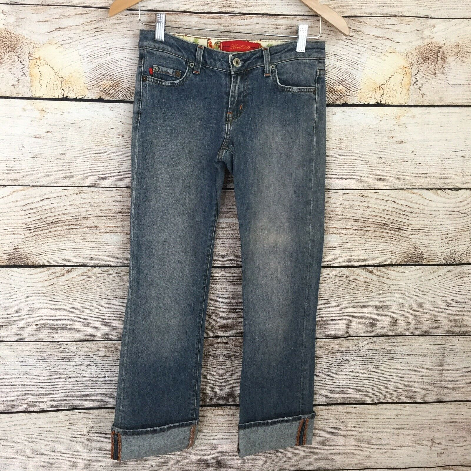 LEVEL 99 Relaxed Fit Denim Jeans Costa 25 0