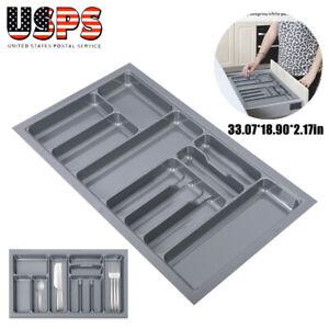 Kitchen-Cutlery-Large-Utensil-Silverware-Drawer-Storage-Organizer-Holder-35-inch