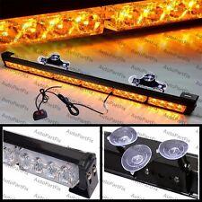 25 inch LED Amber Bar Emergency Truck Strobe Flash Light Warning Truck Dash