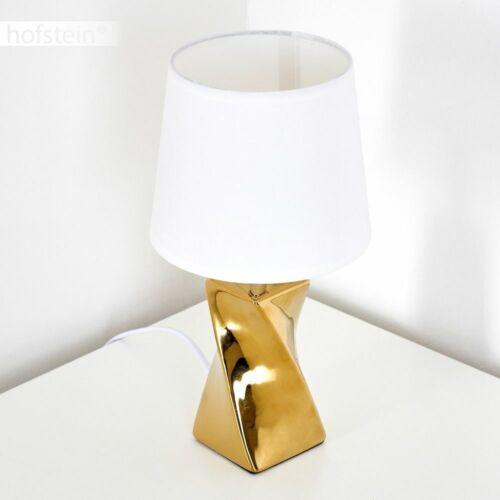 Nacht Tisch Lampen Ess Wohn Schlaf Zimmer Beleuchtung goldfarben Lese Leuchten