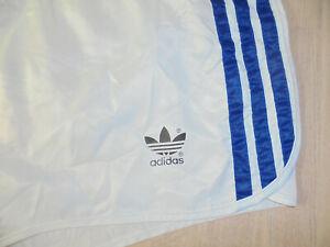 vintage-german-Adidas-Sprinter-shorts-racer-glanz-shiny-Sporthose-oldschool-M