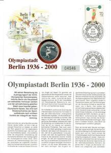 Olympiastadt Berlin 1936 - 2000 mit 10 Dollars Niue, 10g Silber - apolda, Deutschland - Olympiastadt Berlin 1936 - 2000 mit 10 Dollars Niue, 10g Silber - apolda, Deutschland